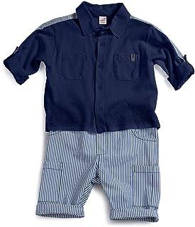Conjunto Horizonte Green Azul Escuro - Toddler Menino