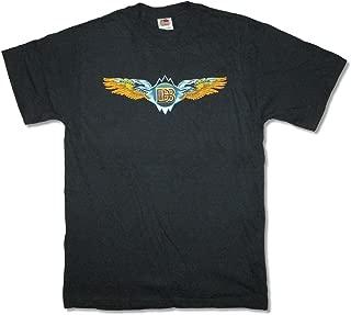 The Doobie Brothers Wings 2012 AZ-NV Black T Shirt
