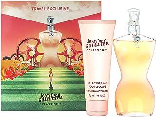 Jean Paul Gaultier Women's Classique Gift Set (3.3 Oz. Eau De Toilette Spray and 2.5 Oz.Perfumed Body Lotion), 167.26g