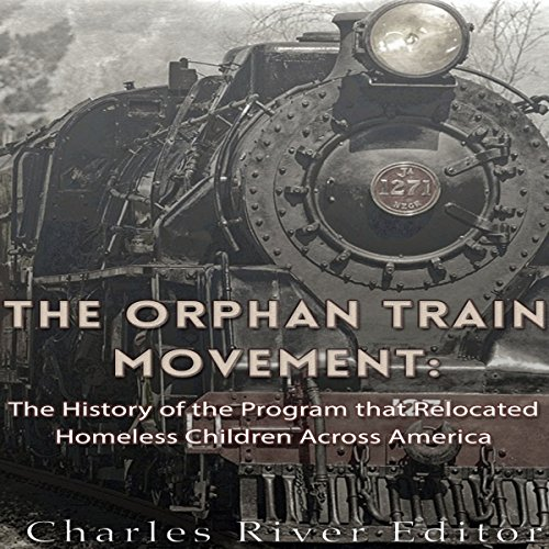 The Orphan Train Movement audiobook cover art