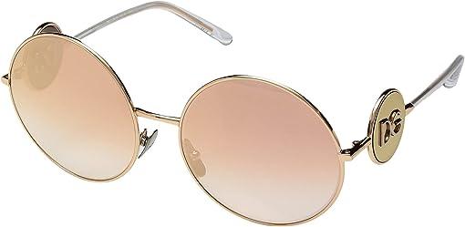 Pink Gold/Gradient Pink Mirror