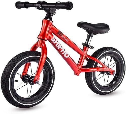 tienda de venta HAO-JJ Coche de Equilibrio for Niños Niños Niños 1-3-6 años de Edad, aleación de Aluminio del Coche Deslizante, sin Pedal for Niños pequeños Scooter yo Car (Color   rojo )  caliente