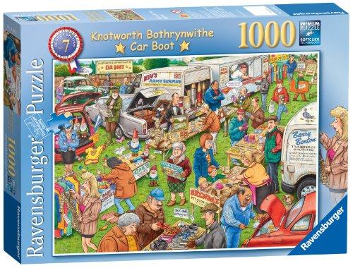 Ravensburger Best of British N ° 7 – Le Coffre de Voiture Sale, 1000pc Puzzle