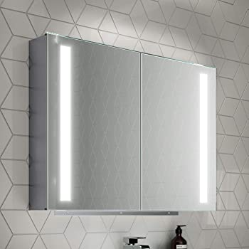 800x600 Dawn Illuminated LED Mirror Cabinet: Amazon.co.uk: DIY & Tools