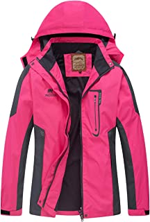 Diamond Candy Waterproof Rain Jacket Women Lightweight Outdoor Raincoat Hooded for Hiking