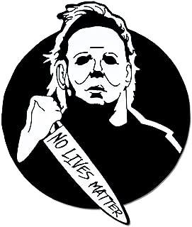 Michael Myers No Lives Matter Halloween Enamel Lapel Pin