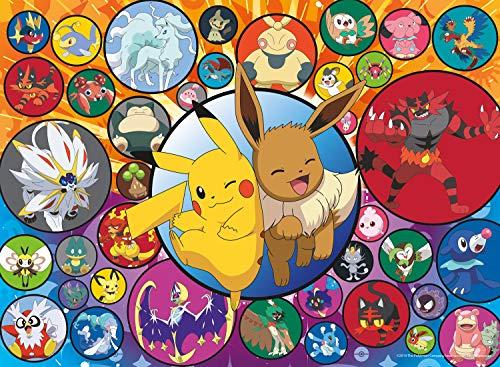 Buffalo Games - Pokemon - Pokemon Alola Region - 100 Piece Jigsaw Puzzle