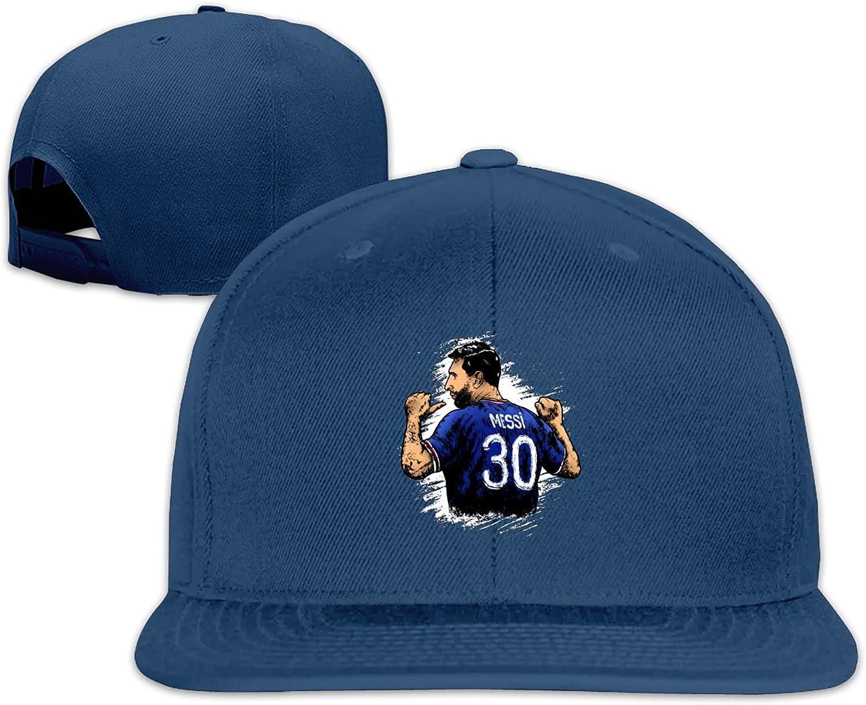 Paris PSG #30 Messi 2021 3D Printing Snapback Baseball Cap Casquette Dad Hiphop Cap Hat Gift for Men Women