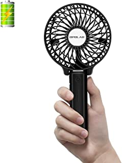 OPOLAR Handheld Portable Battery Operated Rechargeable USB Fan,Mini Personal Fan with..