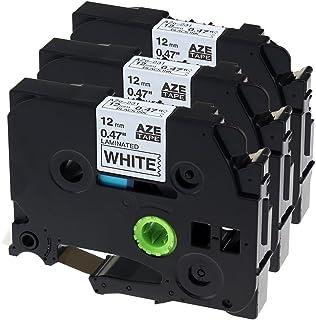 Airmall ピータッチ テープ12mm ブラザー工業 tzeテープ TZe-231 TZ-231 テープカートリッジ互換品 brother p-touch ピータッチ ラベルライター用 3個セット