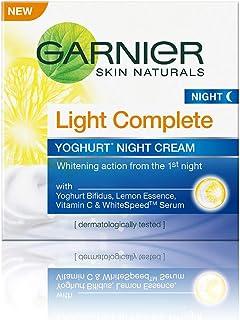 Garnier Skin Naturals Light Complete Night Cream, 18g