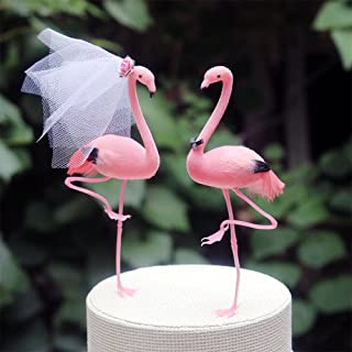 Pink Flamingo Cake Topper: