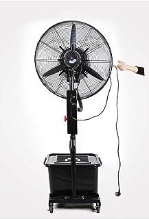 Ventiladores industriales Cooling Big | Ventilador de pedestal | 3 modos operativos | Oscilación 80 ° | Altura ajustable y cabeza del ventilador pivotante | Perfecto para casas, oficinas y dormitori