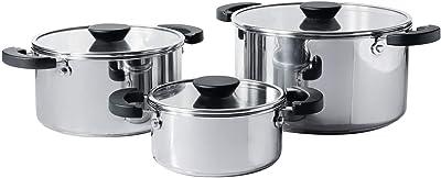 Amazon.com: Rösle Elegance - Batería de cocina de acero ...