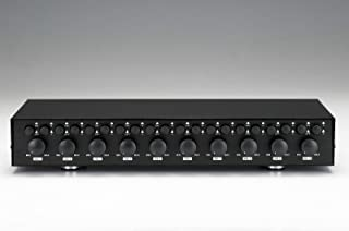 10 Zone/Pair Speaker Selector Switch Switcher with Volume/Level Control Specialty-AV