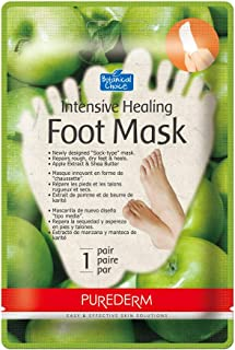Botanical Choice PUREDERM Intensive Healing Foot Mask Apple