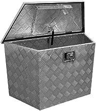 opbergbox dissel aluminium 121 liter zilver