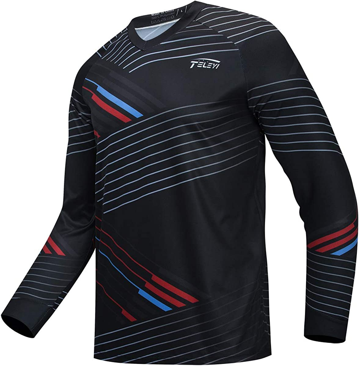 At the price of surprise JPOJPO Regular discount Downhill Cycling Jersey Men's Long Racing M Sleeve