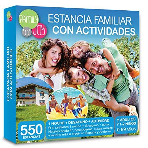 NJOY Experiences - Caja Regalo - ESTANCIA FAMILIAR CON ACTIVIDADES - Más de 550 estancias familiares a escoger