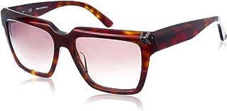 Karl Lagerfeld Unisex Sunglasses, Rectangular, KL Classic - Havana