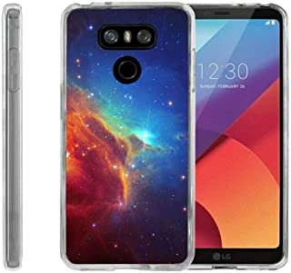 TurtleArmor | Compatible with LG G6 Case | LG G6+ Case | LG G6 Plus Case [Flexible Armor] Flexible TPU Case Slim Fitted Soft Armor Cover - Colorful Nebula Galaxy