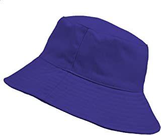MFAZ Morefaz Ltd Enfants Bucket Hat Youths Chapeaux Summer Boy Girl Fisher Outdoor Sun Beach Cap Infants (Royal Blue, Bébé...