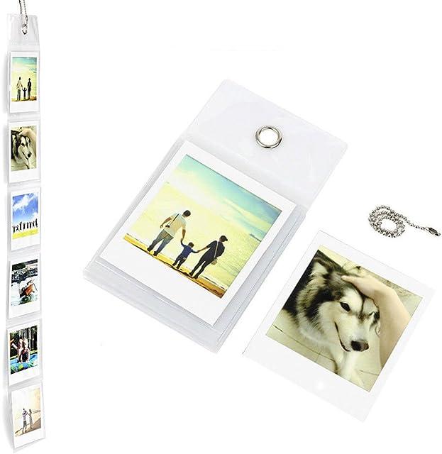 fotoSENSE Álbum de fotos cuadrado para Fujifilm Instax Square (capacidad para 6 fotos)