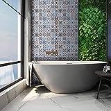 Decorflix Vinilo Azulejos Cocina Baño en rollo Adhesivo papel pintado pared decoración h...
