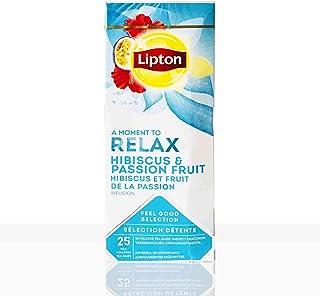 Lipton Tee Classic Relax Hibiskus-Passionsfrucht 6 x 25 Teebeutel á 1,6g
