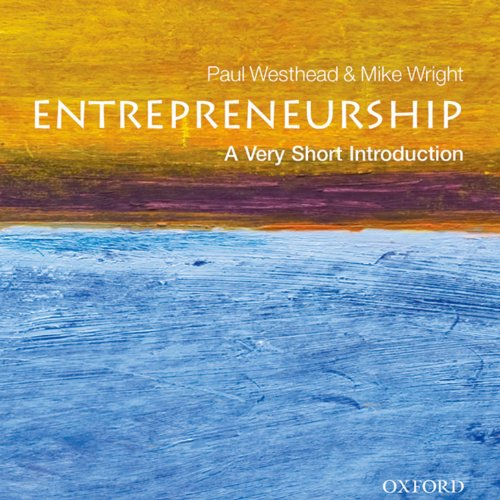 Entrepreneurship audiobook cover art