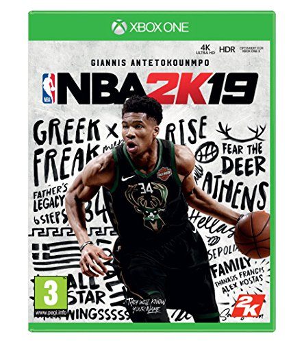 NBA 2K19 Standard Edition [Xbox One] [AT-PEGI]