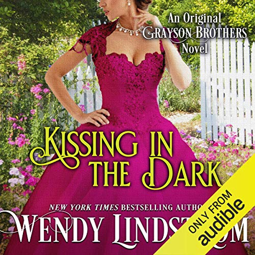 Kissing in the Dark (Grayson Brothers, Book 4) audiobook cover art
