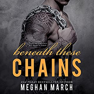 Beneath These Chains     The Beneath Series, Book 3              Written by:                                                                                                                                 Meghan March                               Narrated by:                                                                                                                                 Sebastian York,                                                                                        Andi Arndt                      Length: 7 hrs and 36 mins     1 rating     Overall 5.0