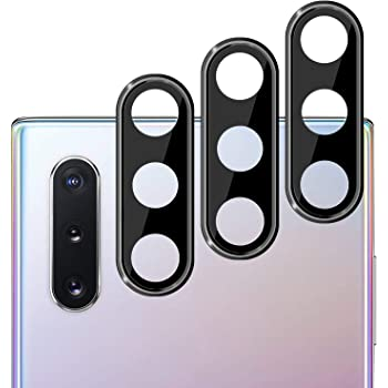 Galaxy Note 10/10 Plus Camera Lens Protector(3 Pack), Anti-Scratch Ultra Thin 3D Camera Lens Protective Protector Compatible with Samsung Galaxy Note 10/10 Plus
