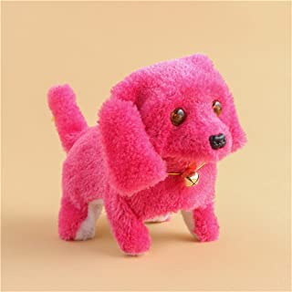 Robotic Electronic Puppy Kids Toy Music Light Cute Walking Pet Dog