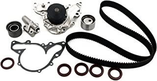 Timing Belt Water Pump Kit fits for 1995 1996 1997 1998 1999 2000 2001 2002 2003 2004 2005 Chrysler Sebring, Dodge Stratus, 1995-2000 Chrysler Cirrus, Dodge Avenger, 1997-2005 Mitsubishi 2.5L V6 24V