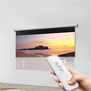 XINKO Beamer duk 4K 3D HD 16: 25 x 40 cm enkel vikbar projektions-vägg – skrynkelbeständig stöd för hemmabio och fri luftb...