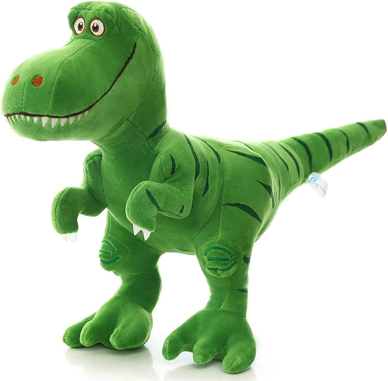 selección larga GJF Juguete de Dinosaurio de Peluche Tyrannosaurus Rex Rex Rex King Talla Ragdoll Día del Niño para Enviar a los Niños Regalos de cumpleaños muñecas Lindas (verde) (Tamaño   40×65)  todos los bienes son especiales