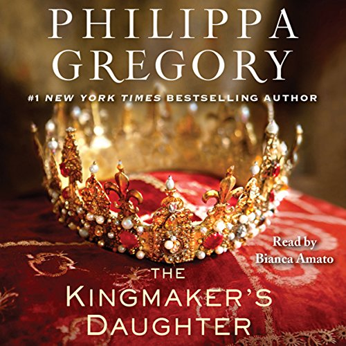 The Kingmaker's Daughter audiobook cover art