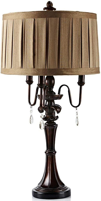 YMWLKE Tischlampe Tischlampe Tischlampe Tischlampe LED, Energiesparlampe, Glühlampe, Tuch Lampenabdeckung Material und Harz Lampe Gehäusematerial, 110V  220V Spannung, 40W maximale Leistung (ohne Glühbirne) A  by B07JZWBZX5 | Wirtschaft  0b0ec1
