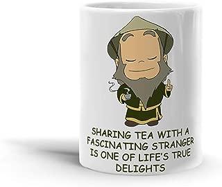 Uncle Iroh Sharing Tea Quote Design 11 Oz Coffee Mug-A3EM4GGT86V33