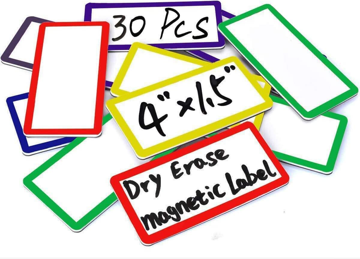 ZHIDIAN Large Magnetic Max 75% OFF Max 52% OFF Dry Erase Labels x Writab 1.5