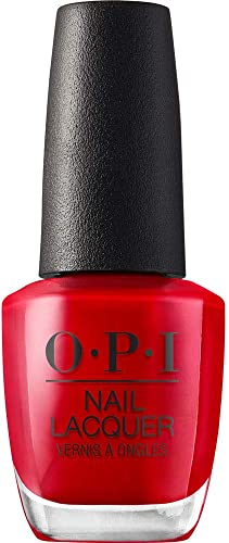 OPI Nail Lacquer, Red Nail Polish, 0.5 fl oz