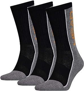Head, Unisex Performance Crew Socks (3 Pack) - Calcetines de tenis. Hombre