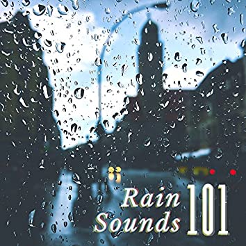 Rain Sounds 101 - ASRM Falling Raining Sounds for Sleeping, High Quality White Noise Thunder Background