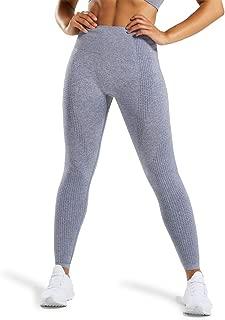 YVYVLOLO Women Yoga Pants High Waist Tummy Control Seamless Gym Workout Leggings