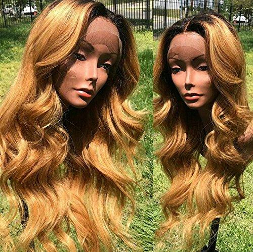 KRN Body Wave Human 2020モデル Hair 1b27 Wigs Lace Colour 150 Front 卓出 Density