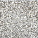 Terra - Placas de techo (72 unidades, poliestireno, 18 m²), color blanco