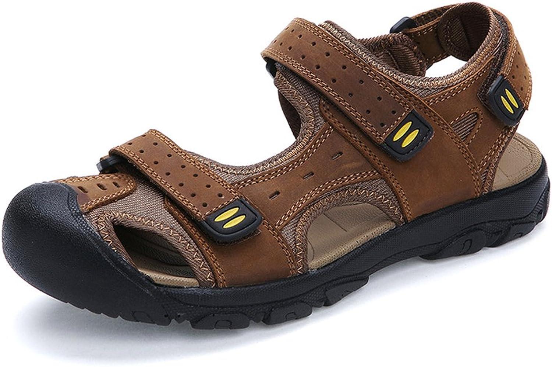 Mobnau Women's Closed Toe Hiking Ladies Sandles Beach Sandals
