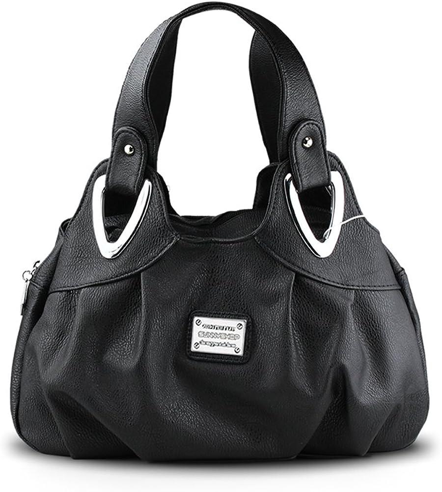 Panzexin Print Floral Bag, Medium Handbag for Ladies Top-handle Handbags for Women